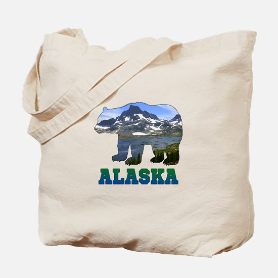 Alaskan Bear Tote Bag