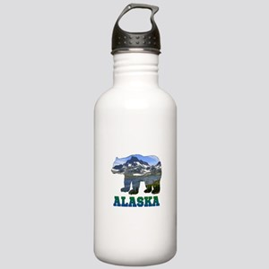 Alaskan Bear Stainless Water Bottle 1.0L