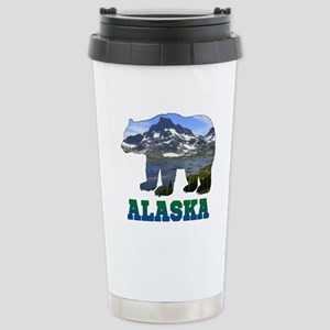 Alaskan Bear Stainless Steel Travel Mug