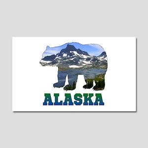 Alaskan Bear Car Magnet 20 x 12