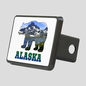Alaskan Bear Rectangular Hitch Cover