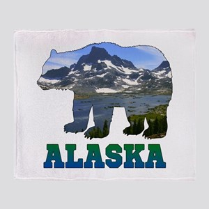 Alaskan Bear Throw Blanket