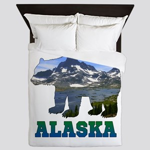 Alaskan Bear Queen Duvet