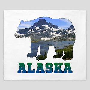 Alaskan Bear King Duvet