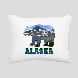 Alaskan Bear Rectangular Canvas Pillow