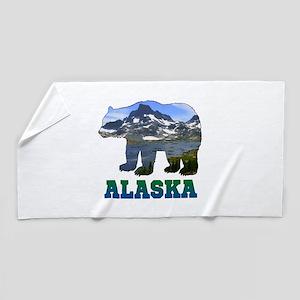 Alaskan Bear Beach Towel
