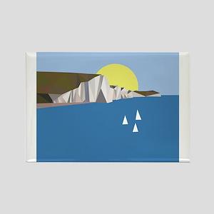 White Cliffs summer Magnets