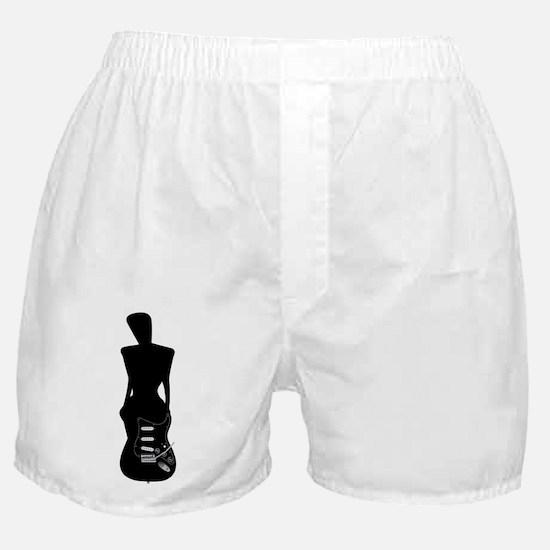 Transition Girl to Guitar Boxer Shorts