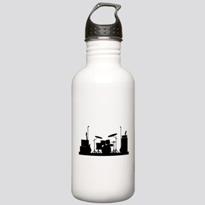 Rock Band Equipment Si Stainless Water Bottle 1.0L