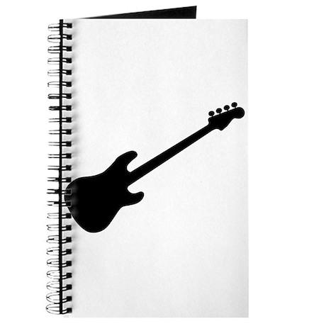 bass guitar silhouette journal by admin cp133759785