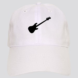 Bass Guitar Silhouette Cap