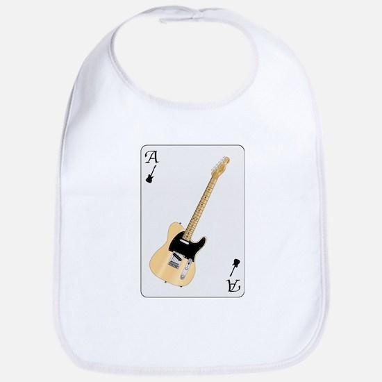 Guitar Playing Card Bib