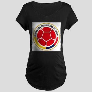 Futbol de Colombia Maternity T-Shirt