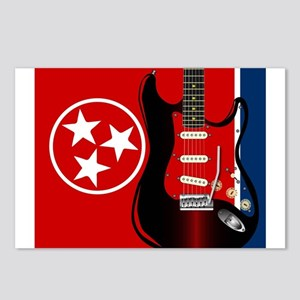 Tennessee Guitar Postcards (Package of 8)