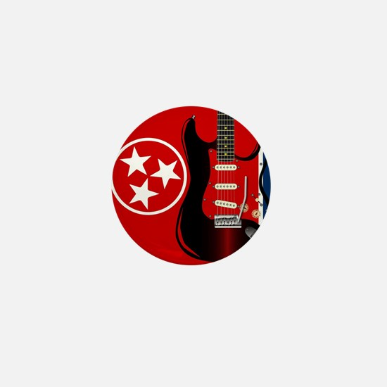 Tennessee Guitar Mini Button