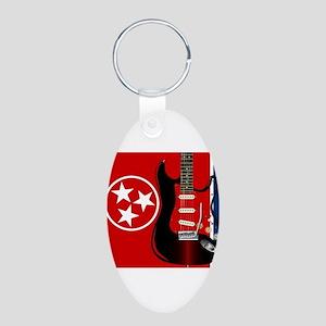 Tennessee Guitar Keychains