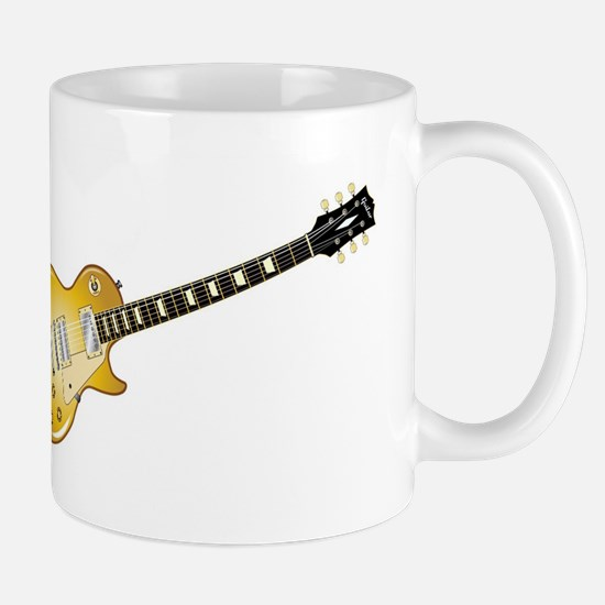 Gold Top Guitar Mugs