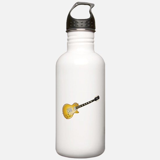 Gold Top Guitar Water Bottle