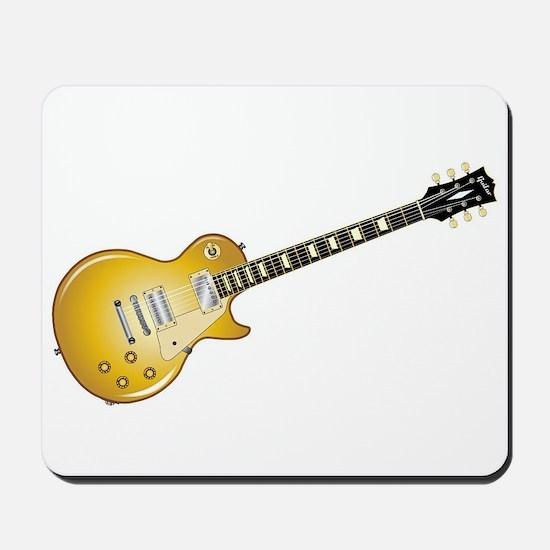 Gold Top Guitar Mousepad