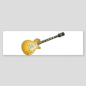 Gold Top Guitar Bumper Sticker