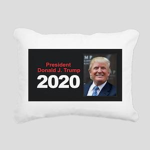 President Trump 2020 Rectangular Canvas Pillow