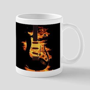 Burning Guitar Mugs