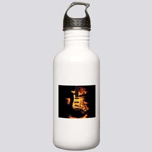 Burning Guitar Stainless Water Bottle 1.0L
