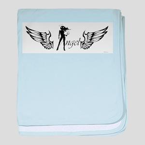 Angel baby blanket