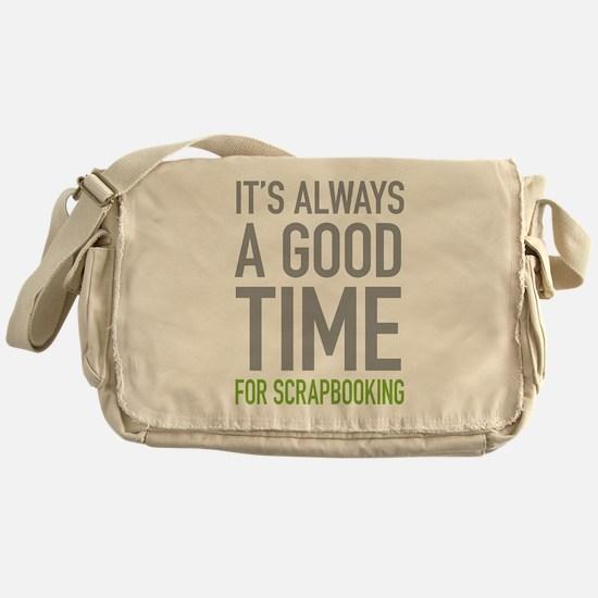Scrapbooking Messenger Bag