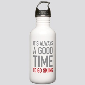 Go Skiing Stainless Water Bottle 1.0L
