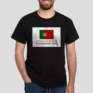 Happy Portuguese Avo (Grandfather) Color T-Shirt