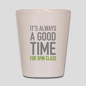 Spin Class Shot Glass