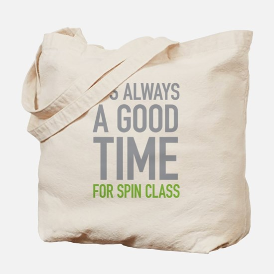 Spin Class Tote Bag