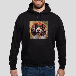 English Springer Spaniel: A Portrait Hoodie (dark)