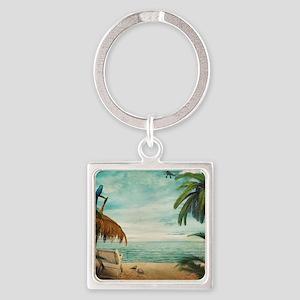 Vintage Beach Keychains
