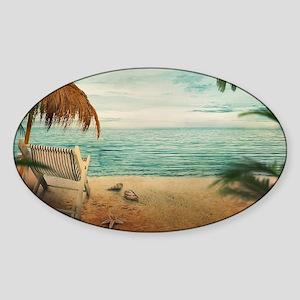 Vintage Beach Sticker