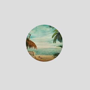 Vintage Beach Mini Button