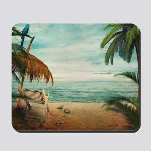 Vintage Beach Mousepad