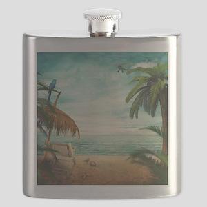 Vintage Beach Flask