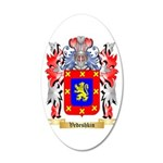 Vedeshkin 20x12 Oval Wall Decal