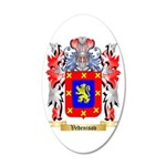 Vedenisov 20x12 Oval Wall Decal