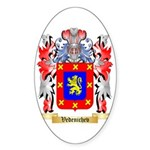 Vedenichev Sticker (Oval 50 pk)
