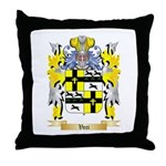Veci Throw Pillow