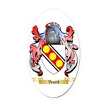 Vecard Oval Car Magnet