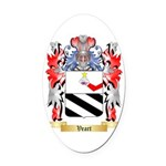 Veart Oval Car Magnet