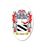 Veart 35x21 Oval Wall Decal