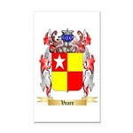 Veare Rectangle Car Magnet