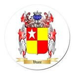 Veare Round Car Magnet
