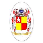 Vear Sticker (Oval 50 pk)