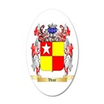 Vear 20x12 Oval Wall Decal